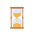 hourglass icon sign symbol vector image