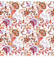Seamless wallpaper with floral ornaments