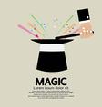Magic Trick Of The Magician vector image