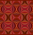 brown seamless psychedelic abstract swirling ray vector image vector image