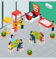 game machine isometric vector image vector image