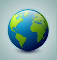 Glossy earth icon vector | Price: 1 Credit (USD $1)
