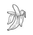 peeled banana sketch