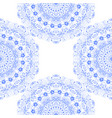 seamless texture blue carved lace vector image vector image