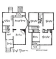 the atlantic floor plans variety of amenities and vector image vector image