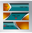 banner modern design vector image vector image