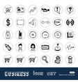 Business media icons vector | Price: 1 Credit (USD $1)