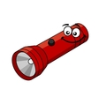 Cartoon flashlight vector image vector image