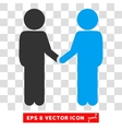 Children Handshake Eps Icon vector image vector image