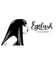 eyelash extension vector image vector image