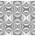 grey seamless abstract psychedelic swirl stripe vector image vector image