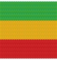 Knitted reggae pattern vector image