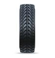 modern auto tire icon vector image vector image