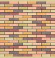 multicolored marble brick background in retro vector image vector image