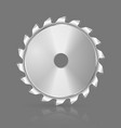 Saw blade icon vector image