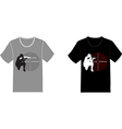 Set of t-shirts vector image