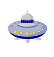 space objects astronautics science flying saucer vector image