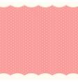 Abstract Polka Dot Background vector image vector image