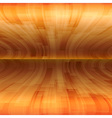 background orange stripes wave horizontal vector image