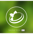 beauty icon skin care health design spa abstract vector image