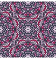 Ethnic Abstract Floral Pattern vector image vector image