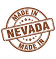 made in nevada vector image vector image