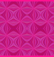 pink seamless psychedelic geometrcial curved vector image vector image