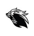 roaring lion icon logo template vector image