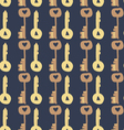 Adorable Love Keys seamless pattern vector image vector image