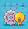 big data design concept vector image