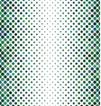 Green abstract dot pattern background vector image vector image