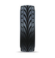 modern speedy car tire icon vector image vector image