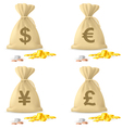 Money bags vector | Price: 1 Credit (USD $1)
