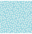 Romantic seamless pattern with small flowers vector image
