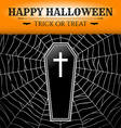 Black Coffin vector image