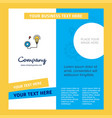 energy power company brochure template busienss vector image