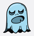 ghost doodle color icon drawing sketch hand drawn vector image