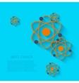 modern chemistry background Eps 10 vector image