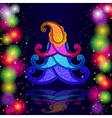 Paisley christmas vector image vector image