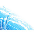 blue light background with curves vector image
