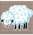 cute sheep vector image