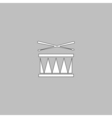 Drum computer symbol vector image vector image