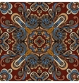 ethnic bohemia fashion abstract indian pattern vector image