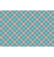 Grayblue check diagonal fabric texture background vector image vector image