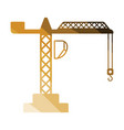 icon of crane vector image