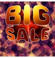 Modern background for futuristic Big sale EPS 10 vector image