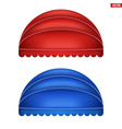 sphere fabric awnings vector image