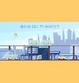 urban eco transport cartoon vector image vector image