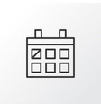 almanac icon symbol premium quality isolated vector image