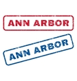 Ann Arbor Rubber Stamps vector image vector image